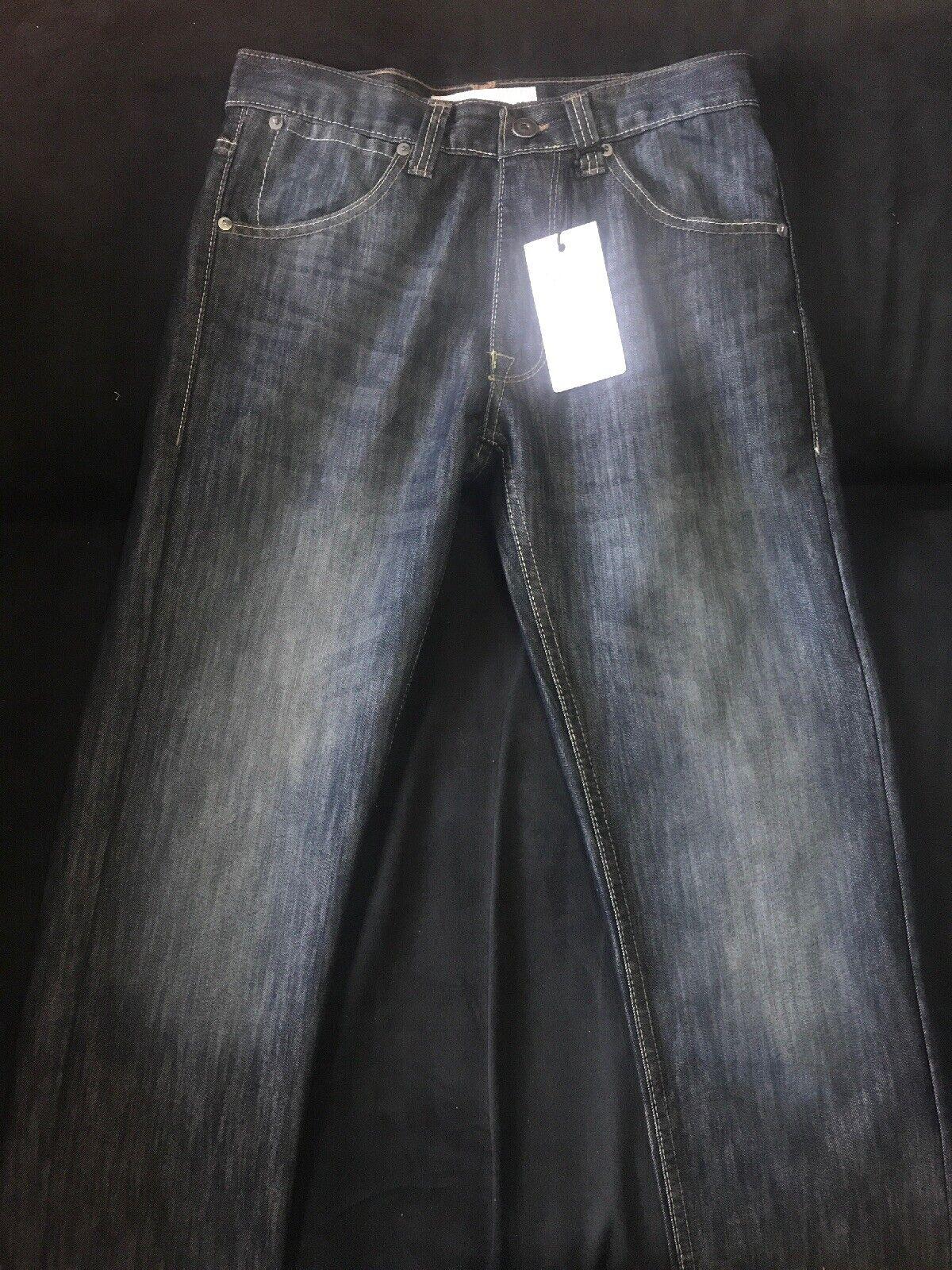 Mens Paper Denim & Cloth Stretch Slim Jeans 28X30 nwt Gaige