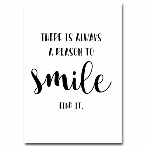 Posters Prints Wall Art Motivational Quotes Letter Patterned Canvas Painting New
