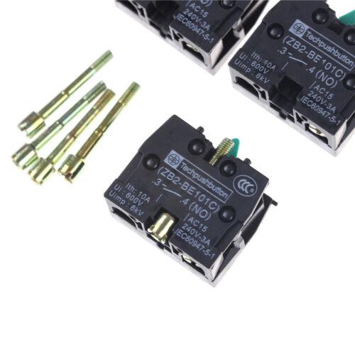 5 PCS ZB2-BE101C Bouton-poussoir Contact Bloc XB2 Série Produits HQ