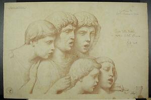 Discret Gravure D'ap Luca Robbia Della Caritoria Di Santa Maria Di Fiori Monrocq C1900 Bonne Conservation De La Chaleur