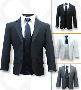 SIRRI Exclusive Slim Fit Formal Page Boy Suits Boys Wedding Prom ...