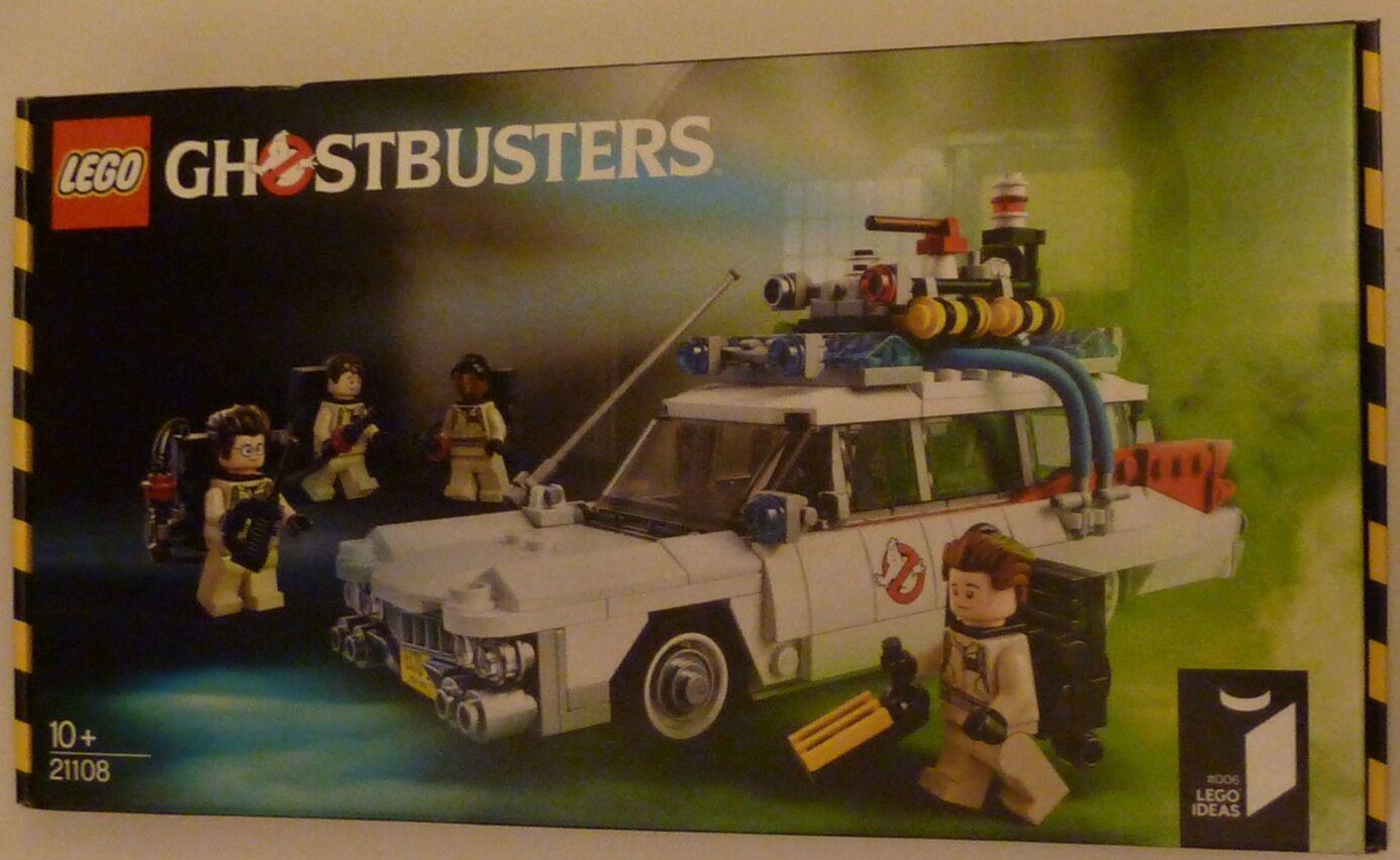 LEGO 21108 Ghostbusters ECTO-1 BNIB NEW Sealed LEGO IDEAS IDEAS IDEAS (CUUSOO) ambulance car cc0fd5