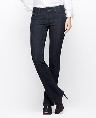NWT Ann Taylor Curvy Fit  Skinny Ankle Jeans  $89.00  NEW Blue