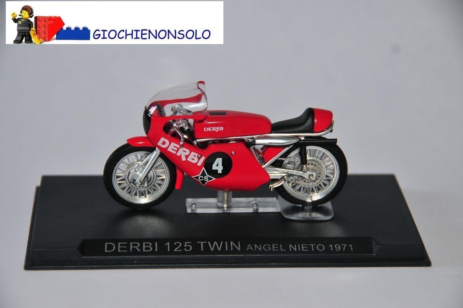MOTO COLLEZIONE GP24 - - - DERBI 125TWIN ANGEL NIETO ANNO 1971 35ca4b