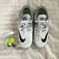 reputable site 9d6c1 b966c item 1  NEW Nike Zoom Rival Men S 8 Sprint Shoes 806554 110 White Size 13  W  SPIKES - NEW Nike Zoom Rival Men S 8 Sprint Shoes 806554 110 White Size  13 W  ...