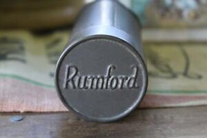 Antique Rumford Baking Powder Tin, Vintage Baking Powder Tin, Spice Tin Prop