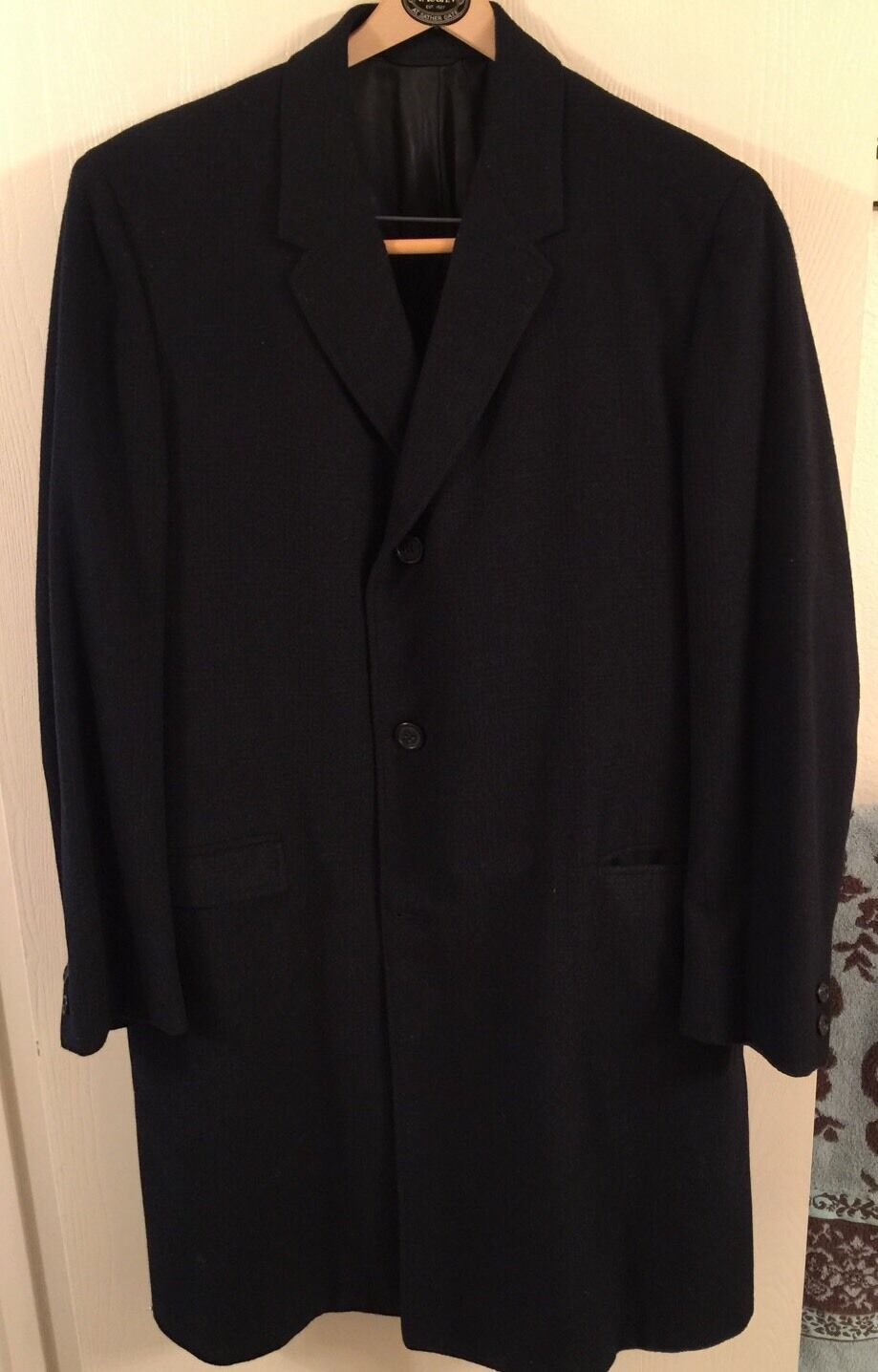 Roos Atkins Edw. Hawk Coat Size 40