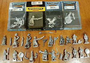 Multi-listing-of-Commissar-Liuetenants-Advisors-Metal-models-Imperial-Guard-OOP