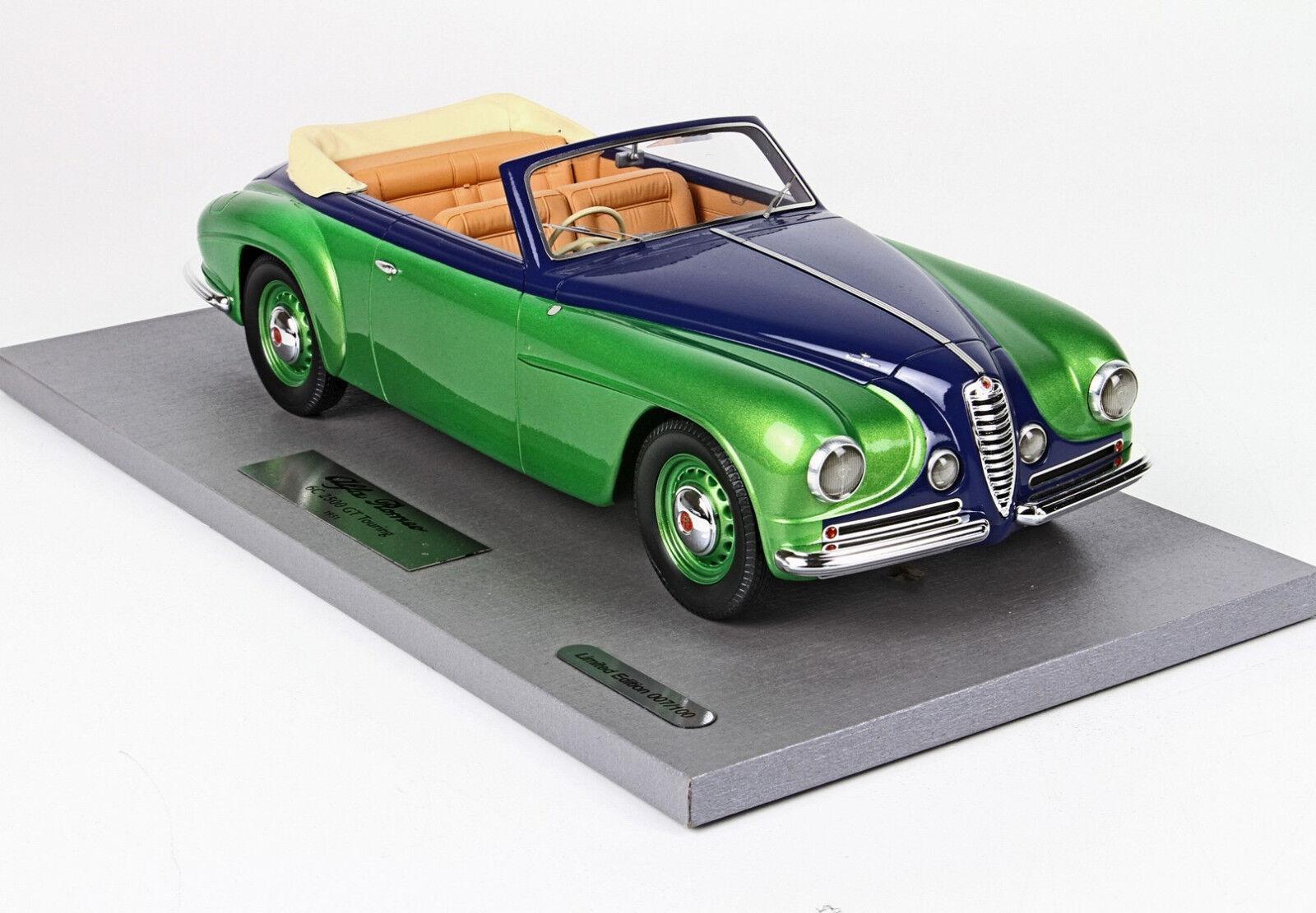 """Alfa Romeo 6c 2500 GT """"Touring"""" Villa d'Este  1 18 lim.ed. BLM1807D BBr"""