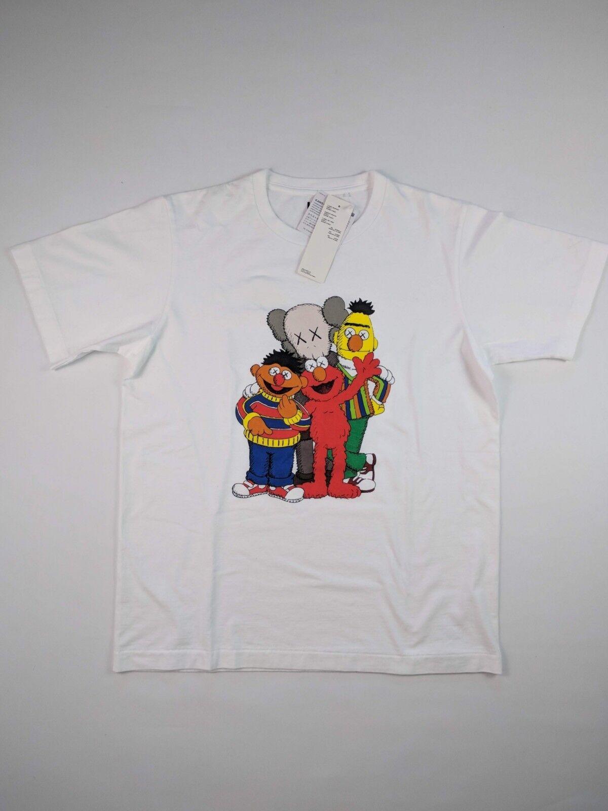 KAWS Sesame Street T-SHIRT bianca XS