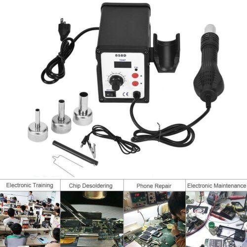 BK-858D SMD Brushless Heat Gun Hot Air Rework Soldering Station 700W 110V USA!