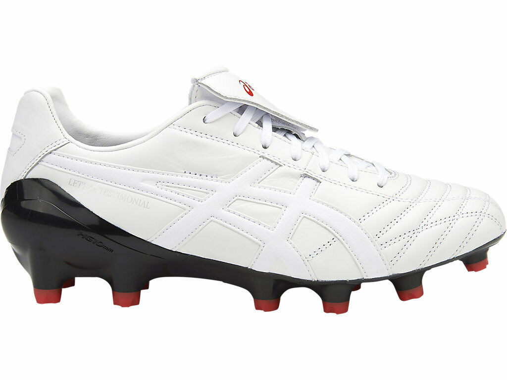 * NEW * Asics Lethal Testimonial 4 (0100) IT Mens Football Boots (0100) 4 02087a