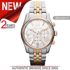 Image is loading Michael-Kors-Lexington-Women-039-s-Watch-Chronograph- b8d68e766a2