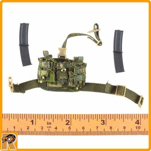 1//6 Scale-FLAGSET Action Figure DEVGRU Jungle poignard-Leg Pouch avec MP7 MAGS