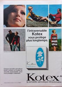 Advertising-Press-Protection-Feminine-Kotex-1968-Ref-69042