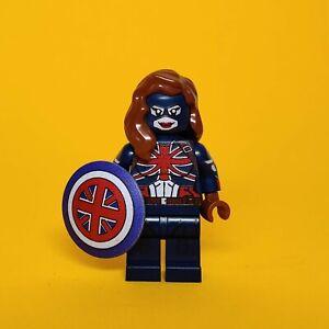 Lego Custom капитан Британия Пегги Картер, что если серии УФ печати