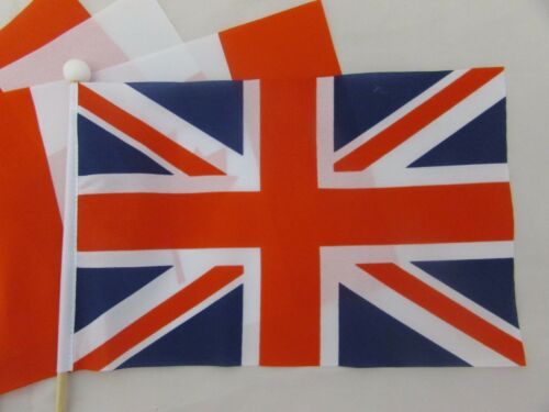 """BLACK COUNTRY Handwaving Flag 9/"""" x 6/"""" Polyester Flag 12/"""" Wooden Pole"""