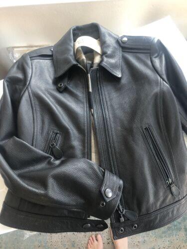 Burberry Classic moto Leather Jacket