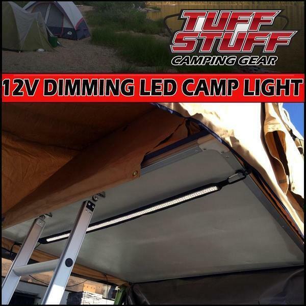 Tuff Tuff Stuff® LED Light Strip 12v For Roof Top Tent, AMBERbianca