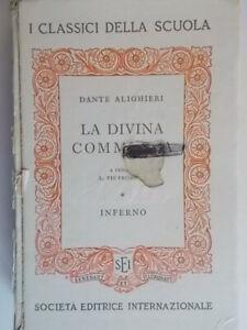 la divina commedia infernoalighieri danteSEI 1966 note pietrobono scuola 94