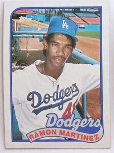 Ramon-Martinez-1989-Topps-Card-No-225-Los-Angeles-Dodgers