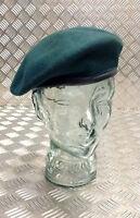 Genuine British Military Issue Green 100% Wool Beret 56cm - Brand