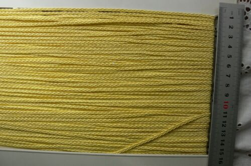 Polyester PLAITED CHAIN BRAID 3mmWide 3 Colours 5 /& 10 Metres MultiList B5 3