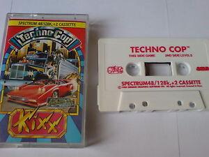 Techno Cop-gremlin-zx Spectrum 48k/128k+2-afficher Le Titre D'origine