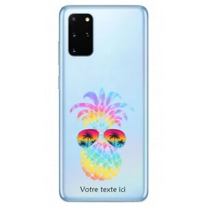 Coque Galaxy Note 10 LITE ananas lunettes tie dye personnalisee