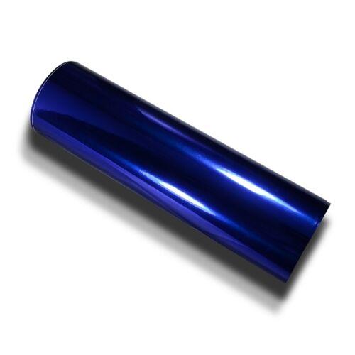 Bleu Chrome Design diapositive 152 cm x 20 mètres hochglänzend avec gaines