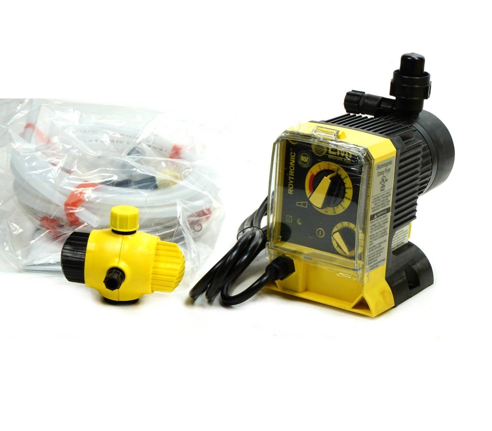 metering dosing pump, lmi milton roy pump