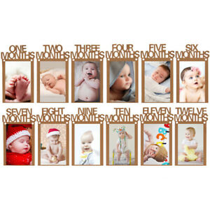 Photo Frame Banner For First Party Decor Baby Boy Girl My 1st One Year Supplies Ebay