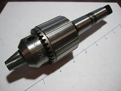 "JACOBS Drill Chuck 34-02 Key K3 0-1//2/"" Capacity 2 Jacobs Taper Mount 14442"
