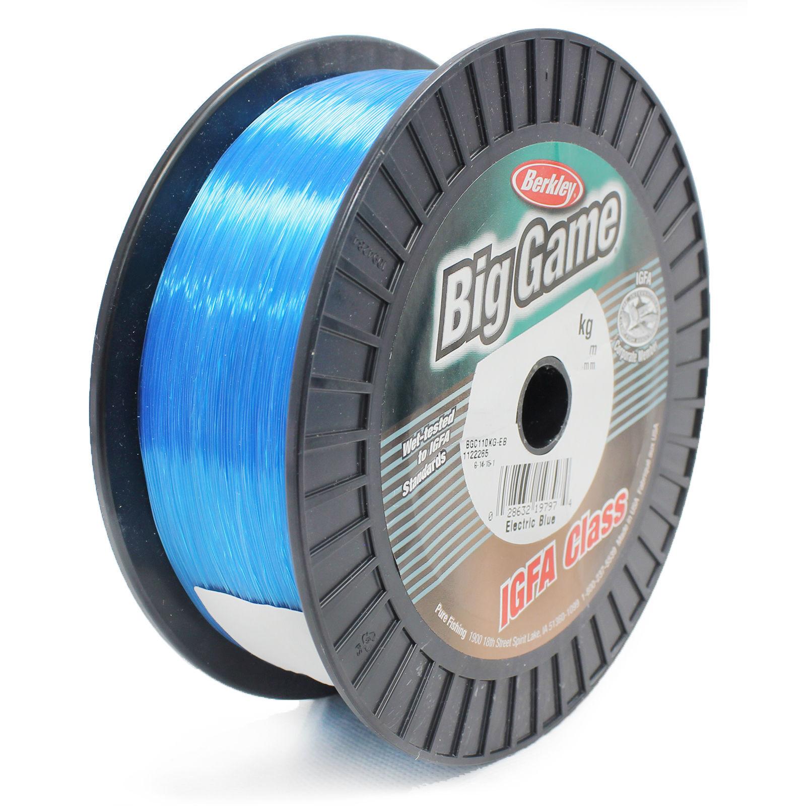 BERKLEY BIG GAME IGFA Bulk Spool Fishing Line  bluee 600 m - 24 kg - 0.71mm  the best online store offer