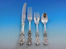 Francis I Reed & Barton Sterling Silver Flatware Service For 8 Set 32 Pieces