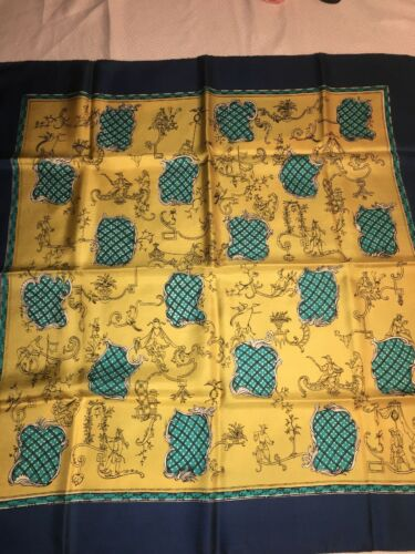 Bersoie Asian Dynasty Silk Scarf