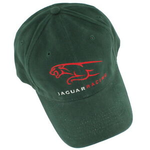 5bc4509c238 Image is loading Jaguar-Green-Racing-Cap-Hat-NEW-JR001
