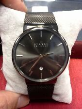 SKAGEN ORIGINAL SKW6108 MEN'S ANCHER GRAY ION-PLATED MESH WATCH 40MM