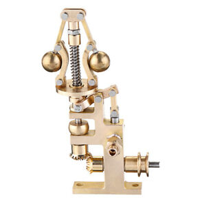Practical-Brass-Mini-Steam-Engine-Flyball-Governor-Physical-Experiment-Model-Hot
