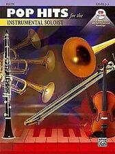 POP HITS for the INSTRUMENTAL SOLOIST f. Flöte Querflöte + CD!