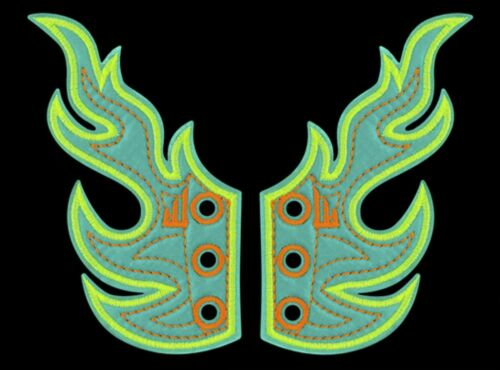 SHWINGS FLAME OCEAN NEON wings SHOES official Shwings NEW 30106