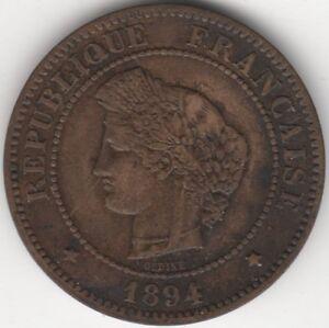 1894-A-France-5-Centimes-European-Coins-Pennies2Pounds