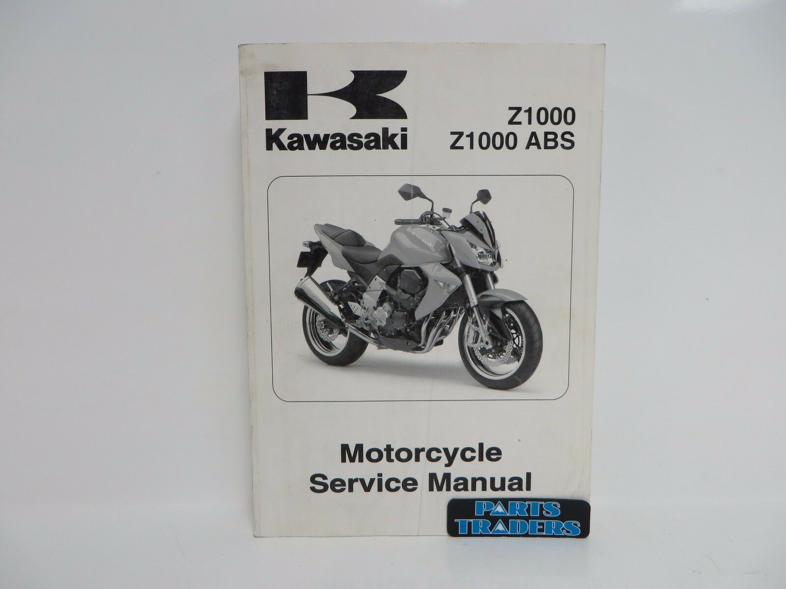 Oem Kawasaki Service Repair Manual Book Z1000 Abs Zr1000 2007 Wiring Diagram Zr1000b7f C7f Ebay