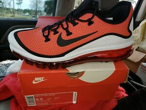 0f2751f5c522f AUTHENTIC NIKE AIR MAX MORE Habanero Red Black White AR1944 600 ...