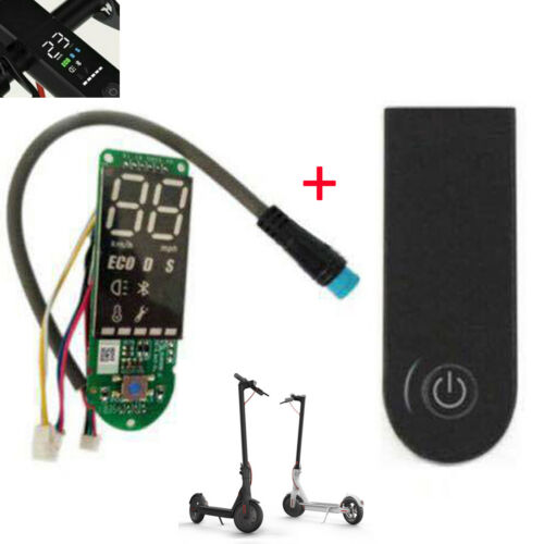 Scooter Bluetooth board Circuit Board /& Dashboard Cover For Xiaomi M365 Pro New