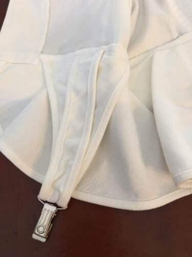 10 maniche a Sz a Clip K vita in Peplo cotone Giacca in giarrettiera Tom da corte nera bassa Nguyen Z81wqZxz