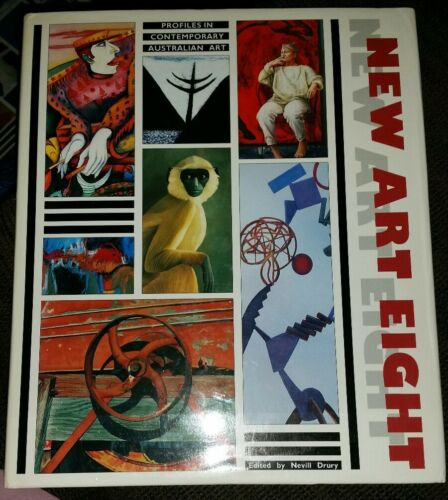 1 of 1 - New Art Eight - Profiles in Contemporary Australian Art - Edited by Nevill Drury