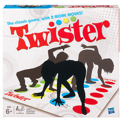 NEW Hasbro Board Game Twister Refresh Age 6+ Kids Activity Games