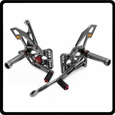 For SUZUKI GSXR1000 2005 2006 GSX-R 1000 K5 Footrests Rearsets Foot Pegs Pedals