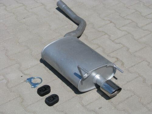 Auspuff Mercedes CLK 200 230 C208 A208 Cabrio 2.0 2.3 Endschalldämpfer *3301